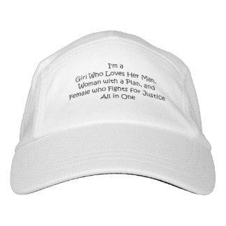 TEE Girl Loves All in One Headsweats Hat