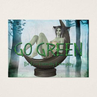 TEE Go Green Eco Friendly Business Card