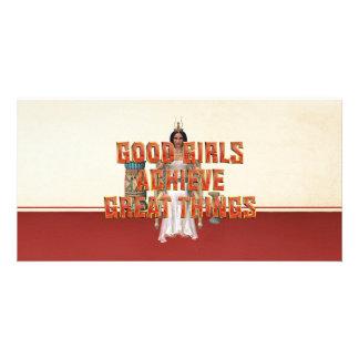 TEE Good Girls Achieve Card