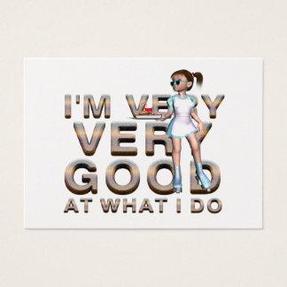 TEE Good Waitress Business Card