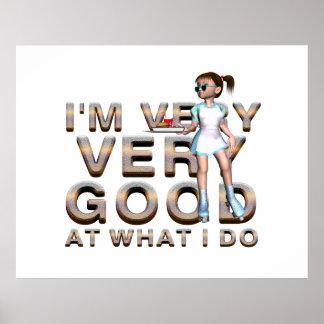 TEE Good Waitress Poster