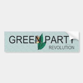 TEE Green Party Bumper Stickers