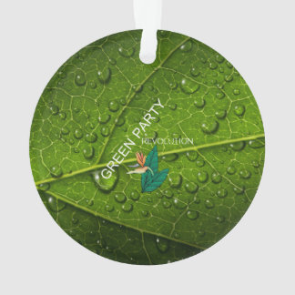 TEE Green Party Ornament