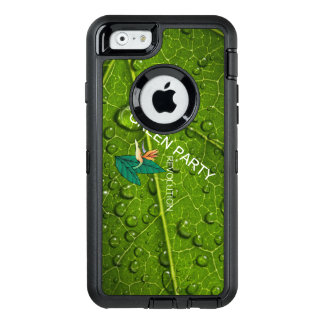 TEE Green Party OtterBox Defender iPhone Case