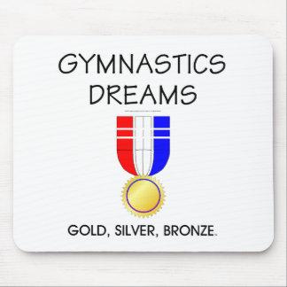 TEE Gymnastics Dreams Mouse Pad