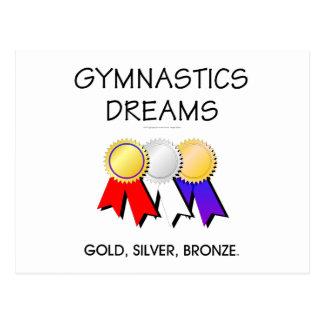 TEE Gymnastics Dreams Postcard