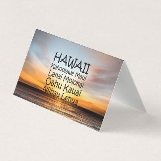 TEE Hawaii Business Card