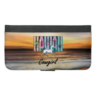 TEE Hawaii Cowgirl iPhone 6/6s Plus Wallet Case