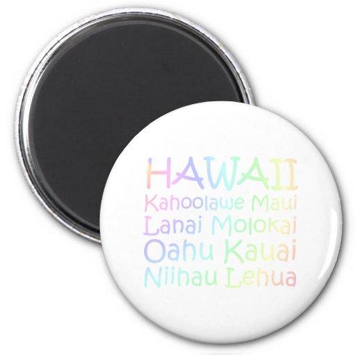 TEE Hawaii Fridge Magnet