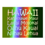 TEE Hawaii Postcard