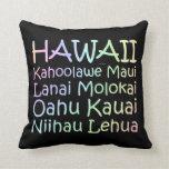TEE Hawaii Throw Pillow