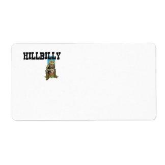 TEE Hillbilly Boy/Girl Label