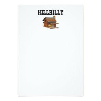 TEE Hillbilly 5x7 Paper Invitation Card