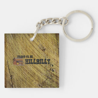 TEE Hillbilly Pride Double-Sided Square Acrylic Keychain