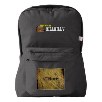 TEE Hillbilly Proud American Apparel™ Backpack