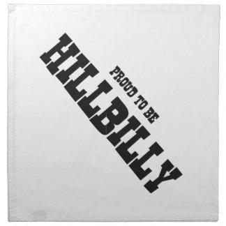 TEE Hillbilly Proud Cloth Napkin
