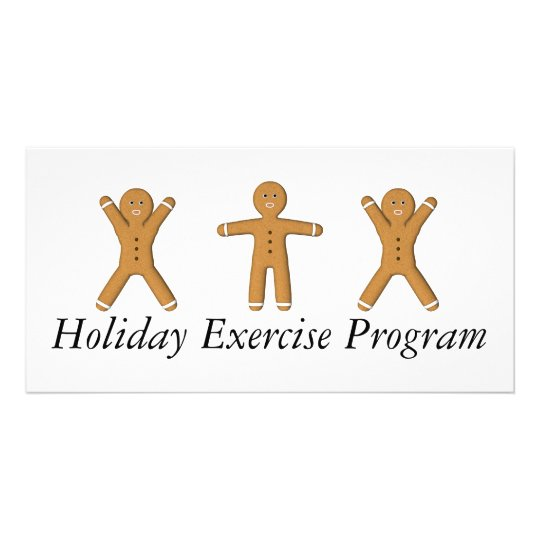 TEE Holiday Exercise Program Card