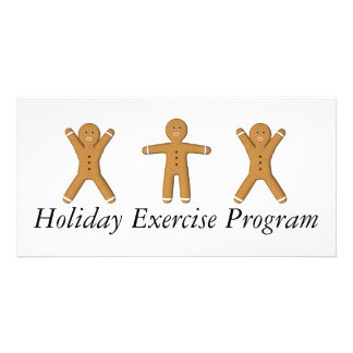 TEE Holiday Exercise Program Photo Card Template