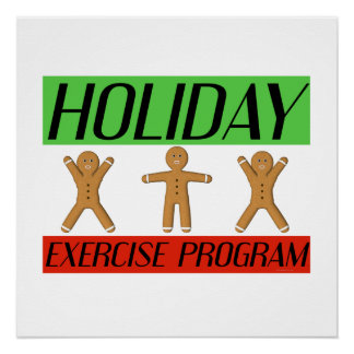 TEE Holiday Exercise Program Poster