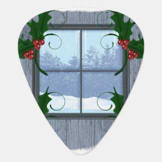 TEE Holly Winter Guitar Pick