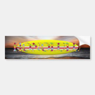 TEE Honolulu Bumper Sticker