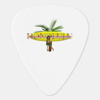 TEE Honolulu Guitar Pick