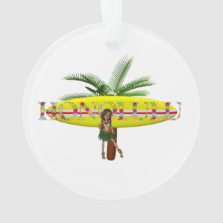 TEE Honolulu Ornament