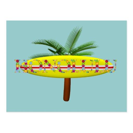 TEE Honolulu Postcard