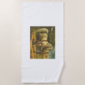 TEE Horse Royalty Beach Towel