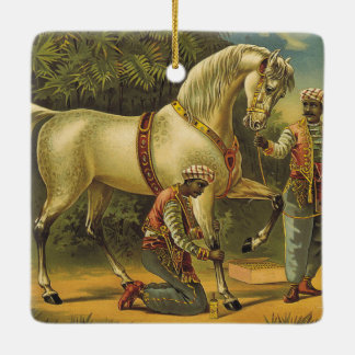 TEE Horse Royalty Ceramic Ornament