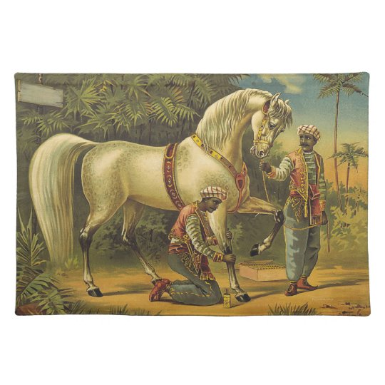 TEE Horse Royalty Cloth Placemat