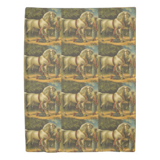 TEE Horse Royalty Duvet Cover