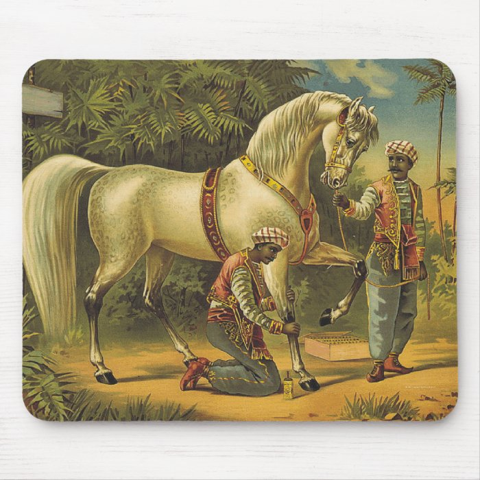 TEE Horse Royalty Mouse Pad