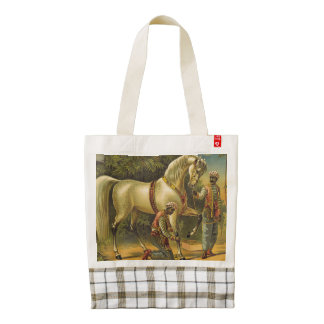 TEE Horse Royalty Zazzle HEART Tote Bag