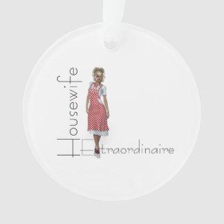 TEE Housewife Extraordinaire Ornament