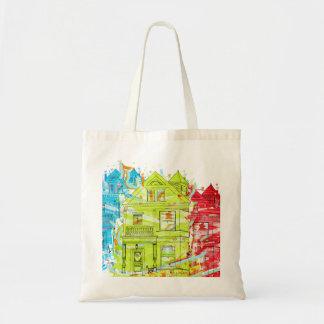 tee housing canvas bag