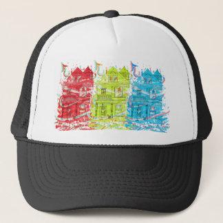 tee housing trucker hat