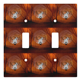 TEE Howl Light Switch Cover