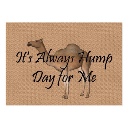 TEE Hump Day Business Card