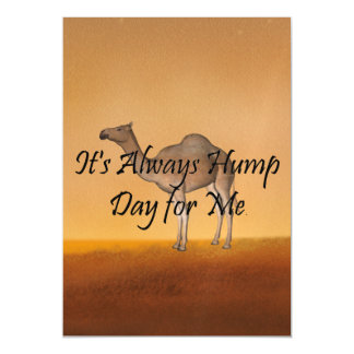 TEE Hump Day Magnetic Card