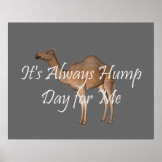 TEE Hump Day Print