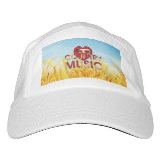 TEE I Love Country Music Headsweats Hat