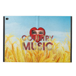 TEE I Love Country Music Powis iPad Air 2 Case