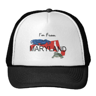 TEE I m From Maryland Mesh Hat