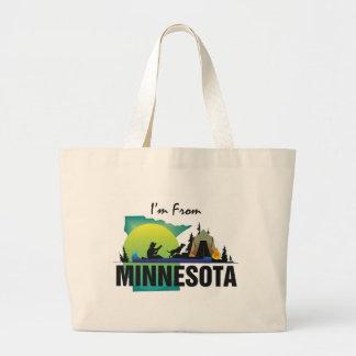 TEE I m From Minnesota Tote Bag