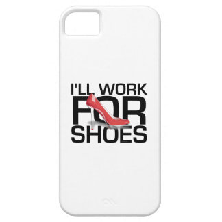TEE I Work for Shoes iPhone SE/5/5s Case