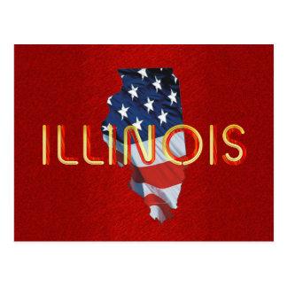 TEE Illinois Patriot Postcard