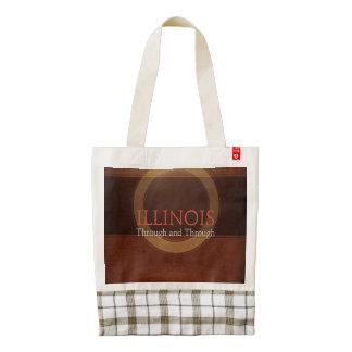 TEE Illinois Zazzle HEART Tote Bag