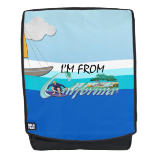 TEE I'm from California Backpack