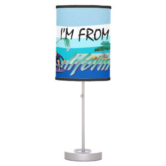 TEE I'm from California Table Lamp